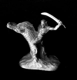 Ral Partha 25mm Fantasy 02-535 Lesser Water Elemental